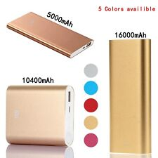Universal MI 5000/10400/16000mAh Xiaomi USB Power Bank Charger For Cell Phone US