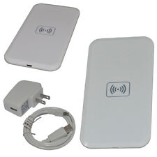 Qi Wireless Charging Pad Mat + Receiver for Samsung Galaxy S3 MC-02A White