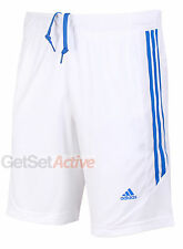 adidas Mens Predator White climacool 9 Inch Woven Polyester Training Shorts New