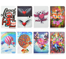 Universal Painting Design Flip Stand PU Leather Cover Case For 7/10inch Tablet