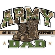 ARMY DAD T-SHIRT (UNISEX FIT) MILITARY DAD ARMY