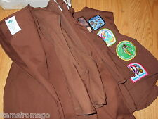 Brownie Girl Scout Uniform VEST - Your Choice - Some have patches