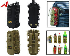 Looyoo 1050D 0.5-2L Tactical Molle Water Bottle Pouch Bag Holder Canteen Cover