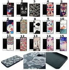 Fashion 3D Relief Embossed Tactile TPU Soft Back Case Cover Skin For Smart Phone