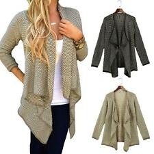Fashion Womens Warm Slim Long Coat Jacket Trench Windbreaker Parka Outwear 44ZP