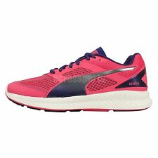 Puma Ignite Mesh Wns Pink Blue Womens Racing Running Shoes Sneakers 18858503