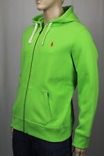 Polo Ralph Lauren Green Full Zip Hoodie Sweatshirt NWT