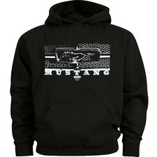 Ford Mustang sweatshirt hoodie Men's size sweat shirt ford honeycomb grill