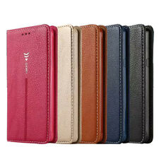 Magnetic Leather Cover Wallet Stand Case For Samsung Galaxy S6 Edge Plus Note 5