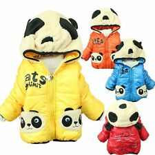 Kids Baby Boys Jackets Girls Hoodies Clothing Panda Jumpers Age 9-24 M