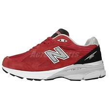New Balance M990RW3 D Red Grey Mens Running Shoes Made In USA M990RW3D