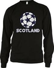 Scotland Soccer Ball Football Alba Scottish Pride Long Sleeve Thermal