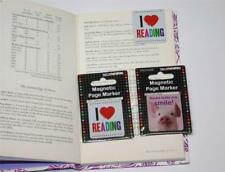 NOVELTY GIFT no damage PAGE MARKER book FRIEND RELATIVE  male female bookmark
