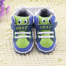 Toddler baby cute boys girls snow boots shoes crib shoes size 3-6 6-9 9-12 month