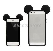 Cute Mouse Ear Soft Gel Rubber Bumper Case Cover for Apple iPhone 6 6Plus 5S