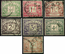 1914 KGV Simple Cypher Postage Dues. Choice of stamps.