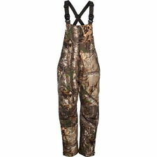 New Cabela's Windproof Waterproof Insulated 125 GM Hunting Bibs Realtree AP Camo