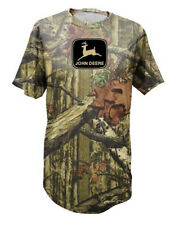 John Deere Camo T-Shirt - Mossy Oak Break Up Infinity - With Black Logo