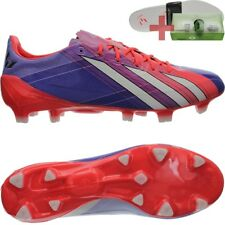 Adidas F50 Adizero TRX FG mi Men's soccer-cleats pink-white-red FG-studs NEW