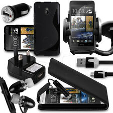 25.4cm 1 Bundle Accessory Kit Case Car Holder Charger For HTC One Mini Phone
