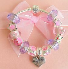 CHILDRENS/GIRLS/PERSONALISE/ BIRTHDAY HELLO KITTY CHARM BRACELET GIFT BOXED