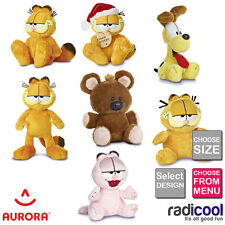 Aurora GARFIELD Odie Pooky PLUSH Cuddly Soft Toy Teddy Kids Gift Brand New