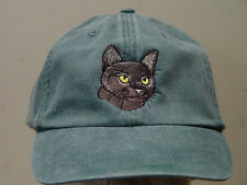BOMBAY SHORTHAIRED CAT HAT WOMEN MEN BASEBALL CAP Price Embroidery Apparel