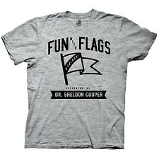 The Big Bang Theory Fun With Flags Funny TV Adult T Shirt