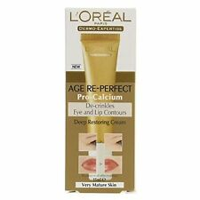 Age Re-Perfect by L'Oreal Pro-Calcium De-Crinkling Eye & Lips Contour NEW