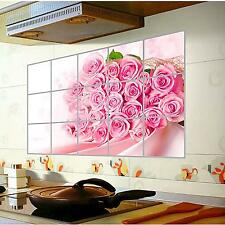 Unique Durable 75*45CM Kitchen Wall Oilproof Waterproof Removable Stickers Decal