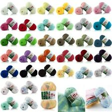 50g Wholesale Lot Soft Natural Bamboo Cotton Knitting Yarn Fingering New
