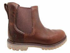 Timberland Earthkeeper Authentics Chelsea Boots Womens Brown Slip On 8269A U14