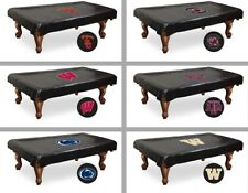Choose NCAA P-Z Team 7', 8', or 9' Heavy Duty Vinyl Billiard Pool Table Cover