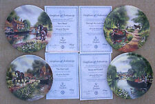 """ROYAL DOULTON - """"LIFE ON THE WATERWAYS"""" PLATES SELECTION."""