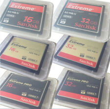Genuine SanDisk 16GB 32GB Extreme Compact Flash CF Memory Card 60/120/160MB/S