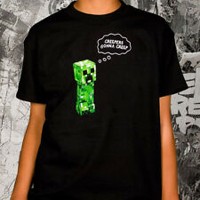OFFICIAL Minecraft - Creepers Gonna Creep YOUTH T-shirt NEW LICENSED Kids Merch