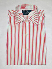 Polo Ralph Lauren Regent White Red Classic Fit Shirt NWT