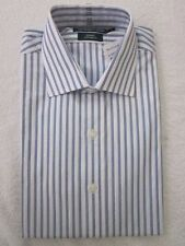 Polo Ralph Lauren Regent White Blue Custom Dress Shirt NWT