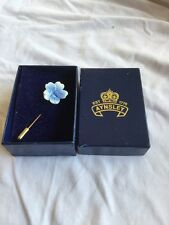 Aynsley Porcelain Stick Pin Brooch Boxed