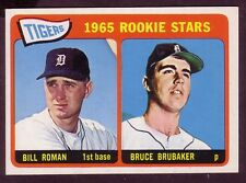 1965 TOPPS TIGERS ROOKIE STARS CARD NO:493 NEAR MINT CONDITION