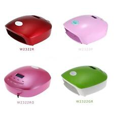 Pro Manicure 12W Nail Dryer Gel Curing LED UV Lamp Timer 10s 30s 60s W4VX