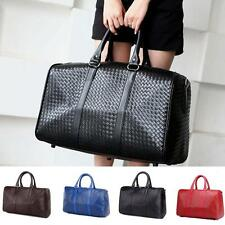 Women Handbag Travel Luggage Shoulder Messenger Sport Gym Casual Bag PU Leather