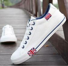 Fashion Mens Breathable Recreational Casual Lace Up Canvas Sneaker Shoes US Size