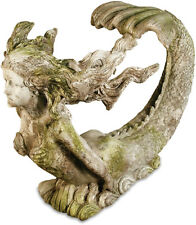 Giant Mermaid Garden Statue by Orlandi Statuary FS8340-Faux Concrete