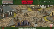 Flames of War BNIB Cratered Cobblestone Roads BB142