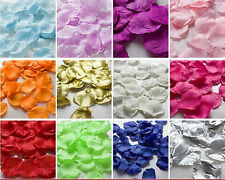 NEW 1000pcs Silk Rose Flower Petals for Wedding Party Table Confetti Decorations