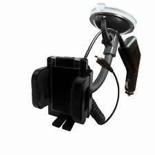 FLEXI STICK 360° CAR HOLDER WINDSCREEN MOUNT+CHARGER FOR VARIOUS MOBILE CELLULAR