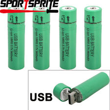 1/2/4/8pcs USB 18650 3.7V 3800mah Rechargeable Li-ion Battery For Flashlight