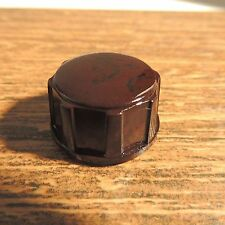 Vintage Tube Radio Knob Brown Bakelite 1940-50's Original Used Vintage LOT A21