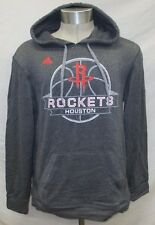 Houston Rockets Men's S, M Pullover Ultimate Climawarm Hoodie NBA adidas A8TRM